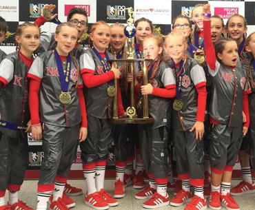 Dance Crew New Kidz winning UDO Street Dance Competition UK