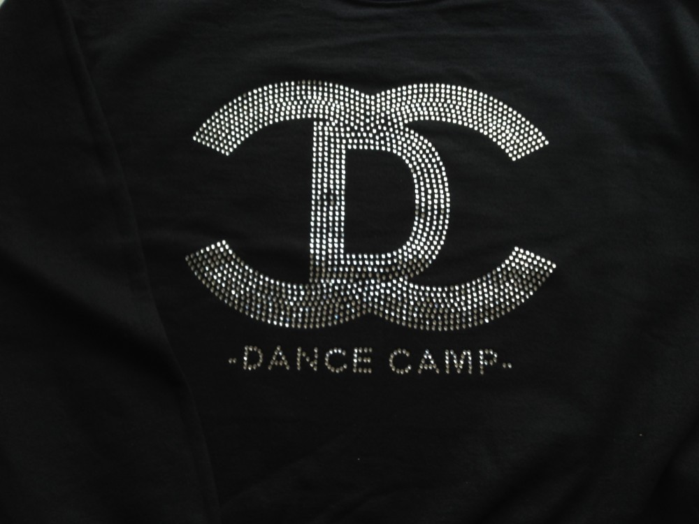 Rhinestone Commercial Dance Camp Logo for Shockout Studio 25