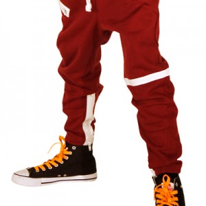 AV-Baggy-Drop-Crotch-Joggers-Burgundy-Kids