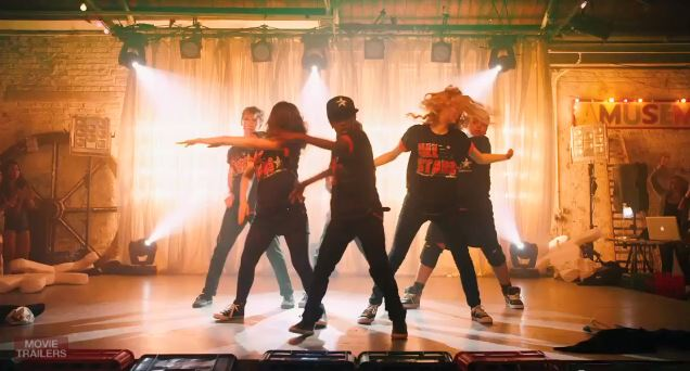 Screen Shot of Dancers in The All Stars Street Dance Movie Final Scene