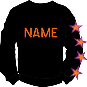 Stage Academy Sweatshirt Back