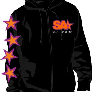 Stage Academy Zip Hoodie Front
