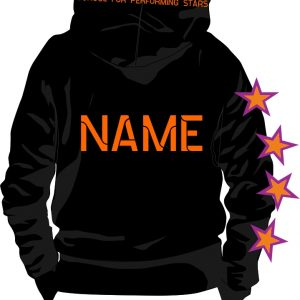 Stage Academy Pull Over Hoodie Back