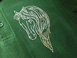 Equestrian Clothing Rhinestone Transfer