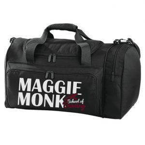 Maggie Monk Black Holdall