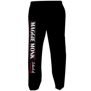 Maggie Monk Black Joggers