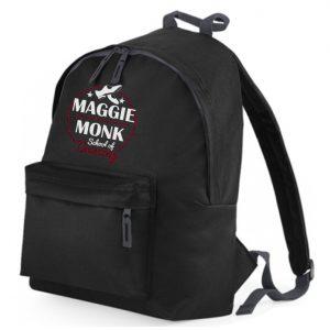 Maggie Monk Black Rucksack
