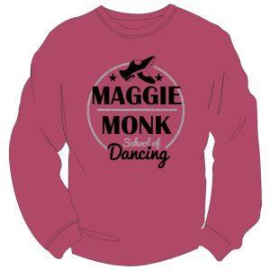 Maggie Monk Burgundy Sweatshirt