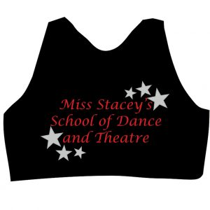 Miss Stacey's School of Dance and Theatre Crop Top Back