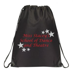 Miss Stacey's School of Dance and Theatre Drawstring Bag